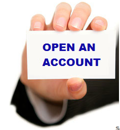 how to open forex account